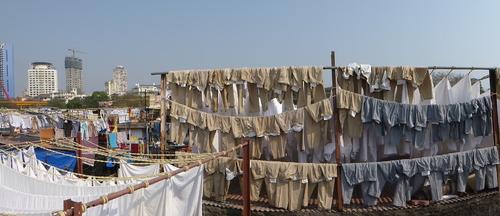 Le blanchisseurs de Mumbai