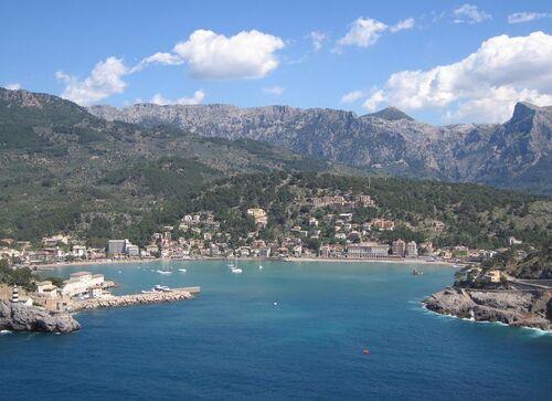 mon petit coin de paradis - le village de soller  - Majorque