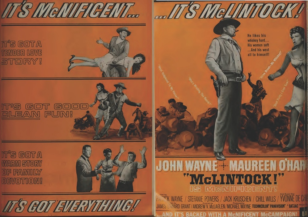 mClintock box office usa 1963