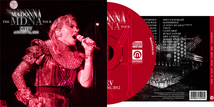 The MDNA Tour - Audio Live in Kiev
