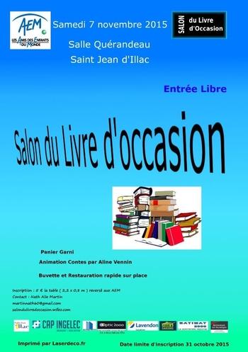 bourse livres saint jean illac - 07 11 2015
