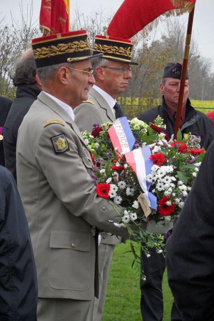 Hommage en Belgique Dixmude et Ypres.