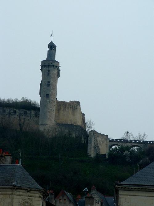 L'île de Tours au cœur de la ville basse de Chinon