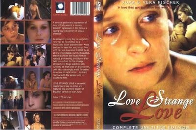 Love Strange Love / Amor Estranho Amor. 1982. DVD.