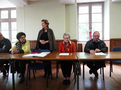"""L'Assemblée Générale 2013 de l'Association des """"Amis du château de Montigny sur Aube"""""""
