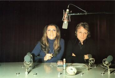 Mars 1974 : Sheila et Claude François à RMC