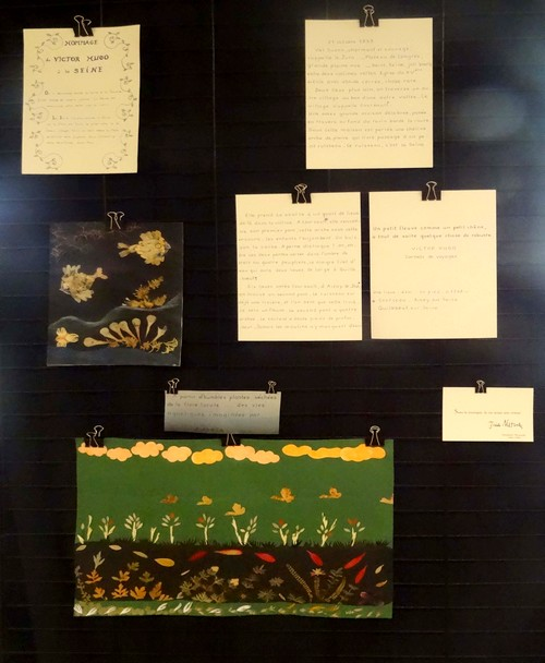 """Une superbe exposition d'oeuvres d'artistes Châtillonnais sur le thème du festival """"Au fil de l'onde, entrez en Seine""""..."""