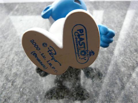 schtroumpfette plastoy schtroumpfs