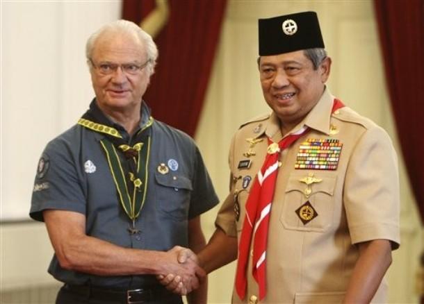 Carl Gustav en Indonésie