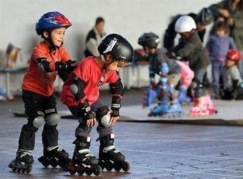 apprendre le roller_enfants
