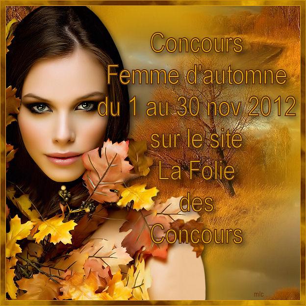 """Concours """"Femme d'Automne"""""""