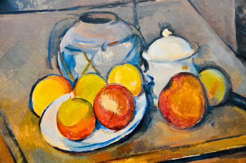 Nature Morte comme Paul Cézanne