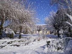 Réaliser un effet chute de neige - tutoriaux photoshop, des tutoriels ...