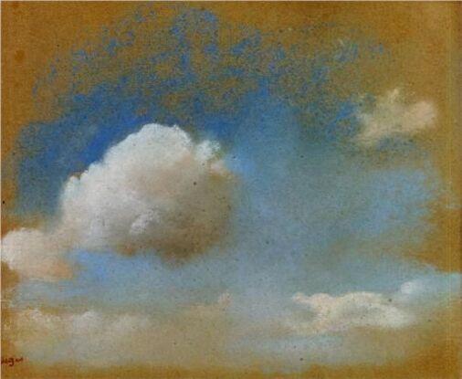 01- Nuages dans la peinture - Au 19eme siècle