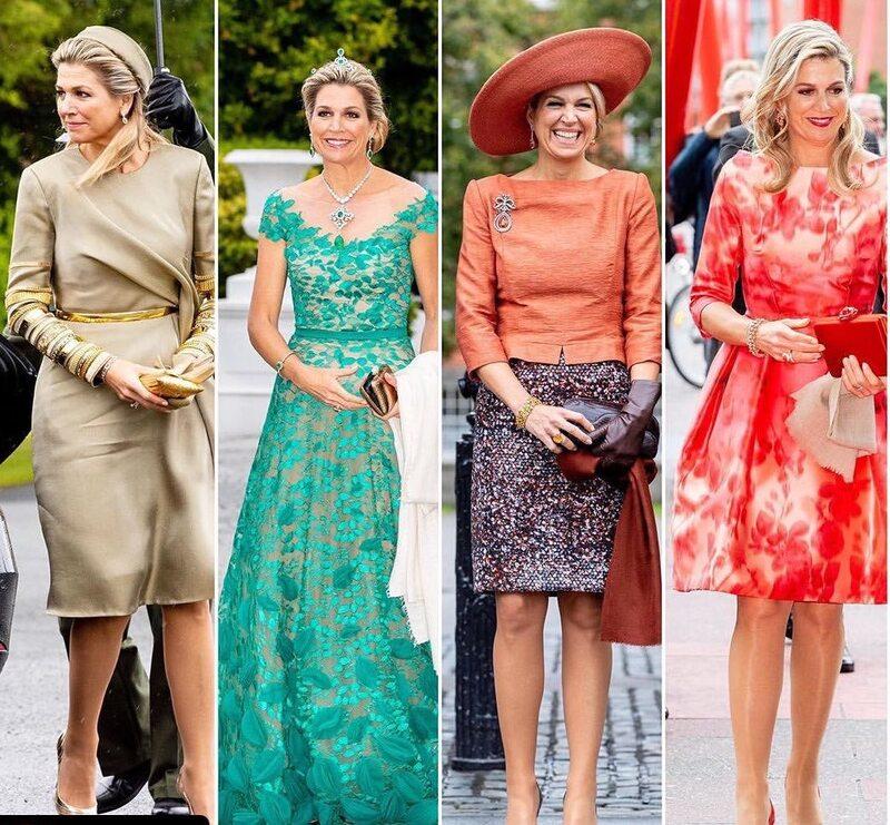 les tenues portées par Maxima, en Irlande