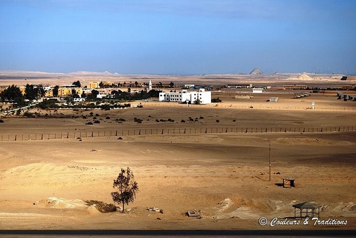 Site de Dahchour, la pyramide rouge
