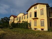 Limenaria   Palataki batiment administratif et logemet site mine