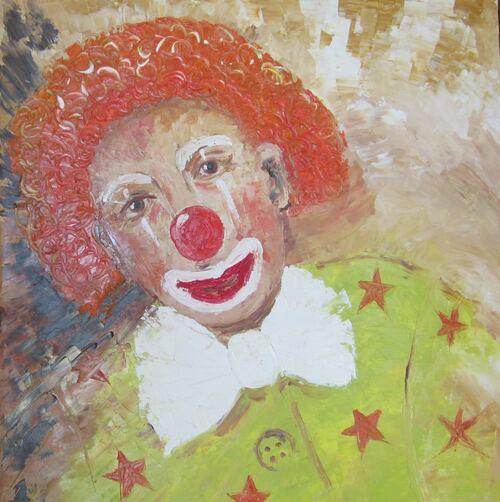Le clown aux étoiles