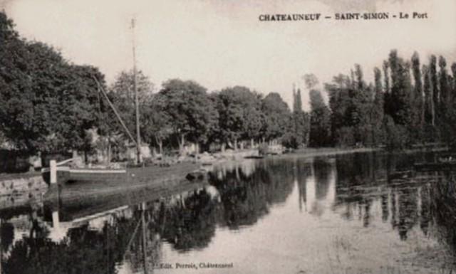 Blog de sylviebernard-art-bouteville : sylviebernard-art-bouteville, LA GABARE DE SAINT-SIMON