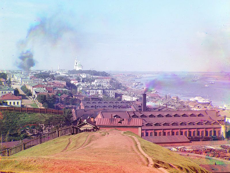 File:Sergei Mikhailovich Prokudin-Gorskii - General view of the city of Perm from Gorodskie Gorki (1910).jpg