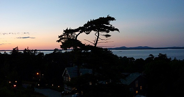 Bar Harbor coucher de soleil