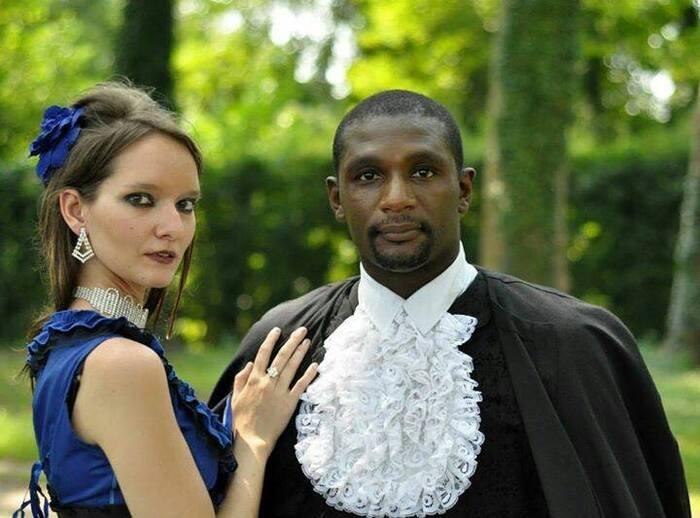 Orphee Drobatnom et Mélanie, modèles goths
