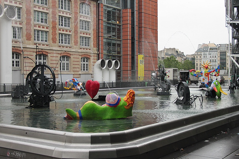 autour d'une fontaine...
