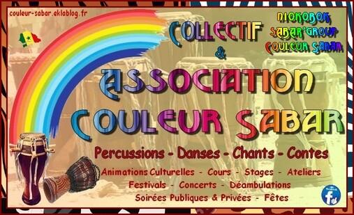 """★ ÉVÉNEMENTIELS avec Couleur Sabar """"Collectif"""" [2016 & 2017]"""