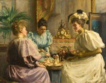 Le thé vu par les peintres