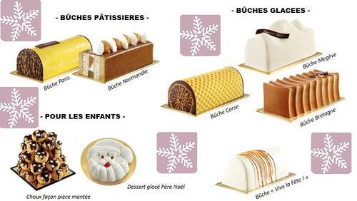 Quel bûche choisir pour Noël chez Toupargel ?