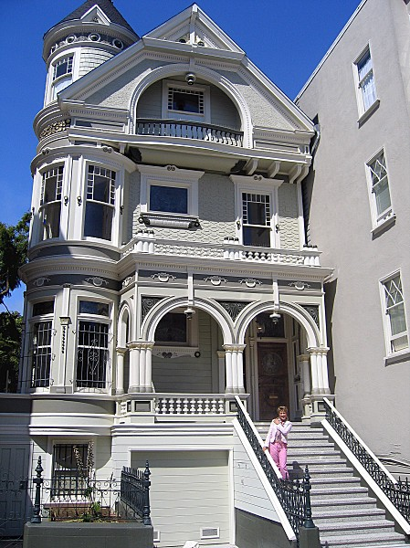 San Francisco maison victorienne Môa