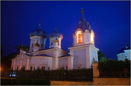 8-Monastère de Cinflea en Moldavie. Situé à Chisinau, c