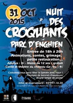 La Nuit des Croquants - Samedi 31 octobre 2015