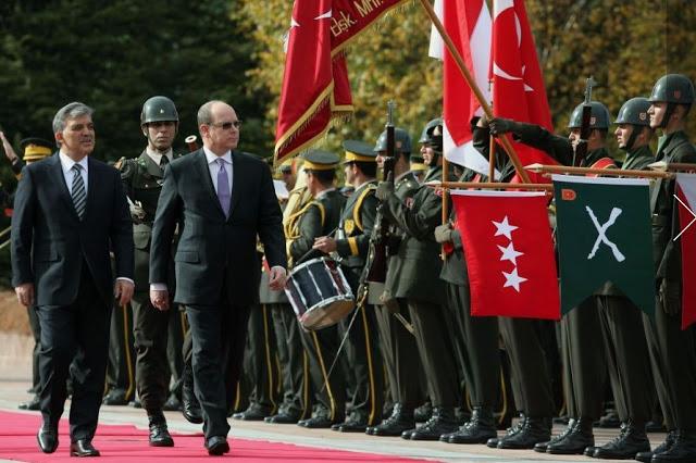 Albert à Ankara