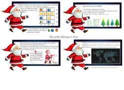 Calendrier de l'avent façon escape game (cycle 3) énigmes de Noël