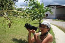 Sarah Gourdel participa en el taller de cine