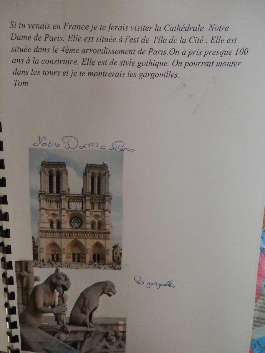 Si tu venais en France, .......