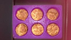 Muffins Dukan pour phase d'attaque ou journées PP