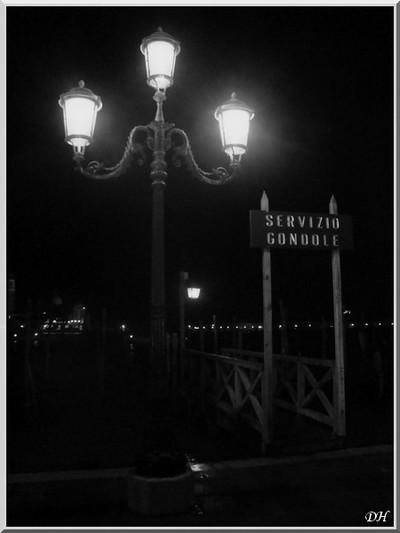 Venise en NB