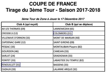 CDF 2017/2018 - 3ième Tour de la Zone -1-