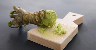 Le raifort japonais ...