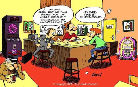 humour indifference