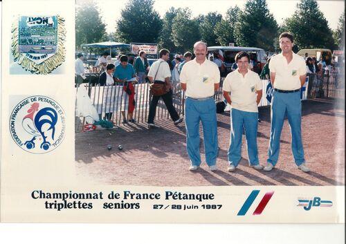 Les qualifiés du 06 de 1981 à 1990