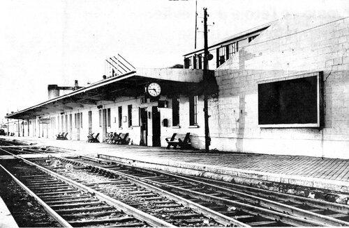 Une gare maritime provisoire de 1946 à 1956