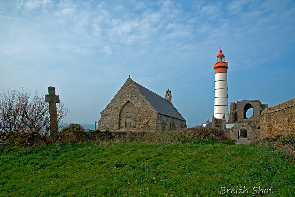 abbaye,chapelle,phare saint-mathieu