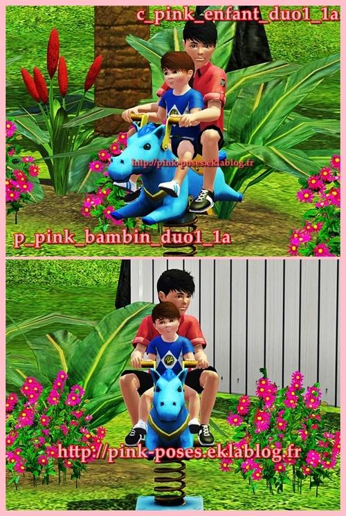 Duo enfant et bambin