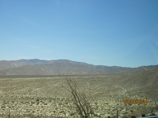 Borrego springs - california