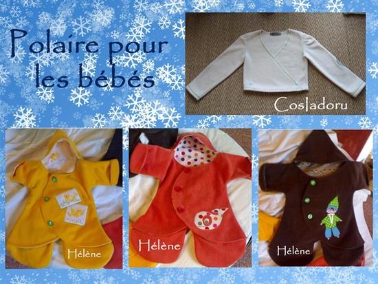 Polaire bebés copie