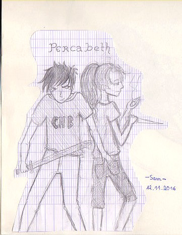 Fan arts : Percabeth, Reyna & Thalia