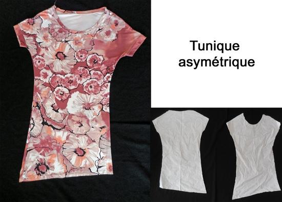 Tunique asymétrique copie